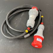 1 X 125Amp 3 Phase 3M Cable - Ref: 1353 - CL581 - Location: Altrincham Wa14