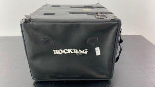 2 x Rockbag By Warwick 10U Rackmount Bags- Ref: 343 - CL581 - Location: Altrincham WA14Items will