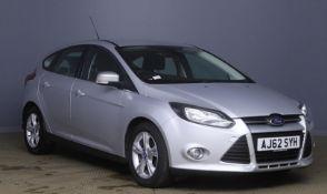 2013 Ford Focus 1.6 TDCi 115 Zetec 5dr Hatchback - CL505 - NO VAT ON THE HAMMER - Location: Corby, N