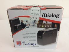 1 x iDialog UPS IDG600 Battery Backup Unit - Ref: 323 - CL581 - Location: Altrincham WA14