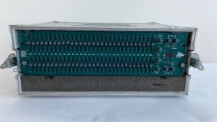 1 x BBS Audio oPal FCS 966 Stereo EQ In A Flight Case - Ref: 167 - CL581 - Location: Altrincham