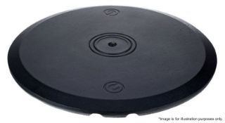 1 x Gravity Round Base Plate New - Ref: 384 - CL581 - Location: Altrincham WA14