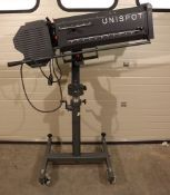 1 x WINKLER FOLLOW SPOT - Including Stand And Flight Case - Ref: 779 - CL581 - Location:
