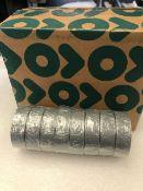 48 x Rolls Of Grey PVC Tape - New & Boxed - Ref: 217 - CL581 - Location: Altrincham WA14