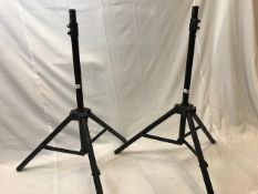 2 x Starlight speakerstands (pair) - Ref: 1165 - CL581 - Location: Altrincham WA14