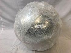 1 x 50cm Diameter disco ball - Ref: 1229 - CL581 - Location: Altrincham WA14