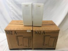 6 X Bose 302 A Environmental speaker (2 out of Box) - Ref: 1213 - CL581 - Location: Altrincham WA14