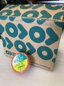48 x Rolls Of Orange PVC Tape - New & Boxed - Ref: 223 - CL581 - Location: Altrincham WA14
