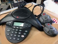 1 x Polycon Telephone Conference System - Ref: 260 - CL581 - Location: Altrincham WA14