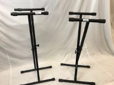 1 x Pair of Keyboard stands - Ref: 1171 - CL581 - Location: Altrincham WA14