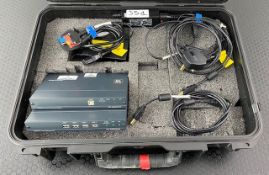 1 x Kramer TT590 TX & RX Kit Including Powercables And USB Cables In Plastic Case - Ref: 351 - CL581