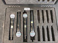 4 x Shure UR2 Beta 58a In Plastic Case - Frequency Range: L3 - Ref: 396