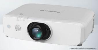 1 x Panasonic PT- EW650 WXGA (243hrs projector and 108hrs lamp) - Ref: 1150