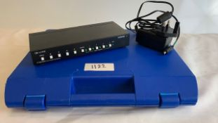 1 x tvONE 1T-SX-644 4x1 HDMI Switcher with PSU in plastic case - Ref: 1122 - CL581 - Location: