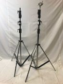 1 x Pair of adjustable lightning stands - Ref: 1188 - CL581 - Location: Altrincham WA14