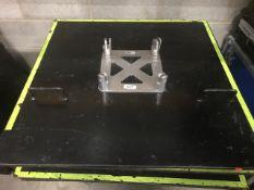 2 x 1m x 1m 60kg base plates for James thomas truss - Ref: 1217 - CL581 - Location: Altrincham WA14