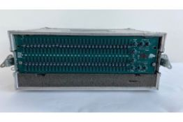 1 x BBS Audio oPal FCS 966 Stereo EQ In A Flight Case - Ref: 168 - CL581 - Location: Altrincham