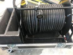 1 x Van Damme Multi Core Socaplex With Stage Box & Tails In Flight Case