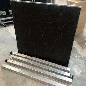1 x Deck / Camera Platform - Measures 1m x 1m On 900mm Legs - Ref: 278 - CL581 - Location: