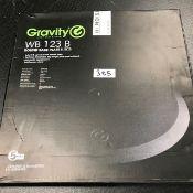 1 x Gravity Round Base Plate New - Ref: 385 - CL581 - Location: Altrincham WA14
