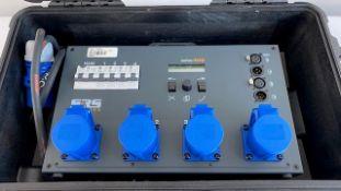 1 x SRS Lighting Series 400, 4-Channel Dimmer Pack in Peli Case