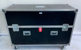 """1 x C-Touch 55"""" LED Monitor In A Dual Wheeled Flight Case - Ref: 147 - CL581 - Location:"""