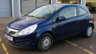 2011 Vauxhall Corsa 1.0 i ecoFLEX 12v S Hatchback 3dr - CL505 - NO VAT ON THE HAMMER - Locatio