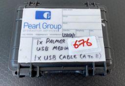 1 x Palmer PCDI Box - In Case - Ref: 676 - CL581 - Location: Altrincham WA14