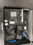 1 x Canford Audio Reporter Phone With Power Supply, In A Soft Case