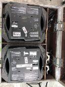 2 x Mac 250 Spots In Flight Case - Ref: 498 - CL581 - Location: Altrincham WA14Items will be