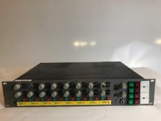 1 x Rack mounted 8 channel Passive mixer - Ref: 1092 - CL581 - Location: Altrincham WA14