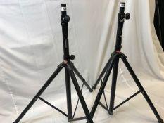 1 x Pair of Stagg Speaker stands - Ref: 1168 - CL581 - Location: Altrincham WA14