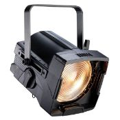 6 x Source Four S4 Fresnel Lights With Gel Holders, Barn Doors & Safety Cables - In Flight Case