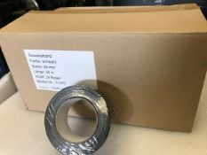 24 x Rolls Of Black Gaffer Tape - New & Boxed - Ref: 232 - CL581 - Location: Altrincham WA14