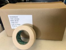 24 x Rolls Of White Gaffer Tape - New & Boxed - Ref: 224 - CL581 - Location: Altrincham WA14