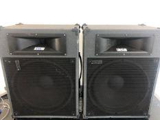 2 x Toa Speakers SL150 - Ref: 456 - CL581 - Location: Altrincham WA14