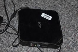 1 x Acer Aspire R3700 Mini PC With 2gb Ram and Intel Atom Processor - Ref: In2133 Pal1 WH1 - CL011 -