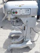 1 x BUFFALO Dough Planetary Mixer CD606 20Liter - Dimensions: H80 x W33 x D50cm - Pre-owned, Taken F