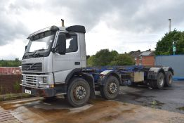 1 x Volvo 340 Plant Lorry With Tipper Chasis and Fitted Winch - CL547 - Location: South Yorkshire.