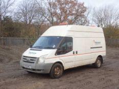 2008 Ford Transit 350 LWB 115 RWD 5 Door Panel Van - CL505 - Location: Corby, Northamptonshire