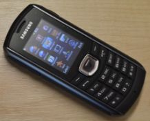 4 x Samsung GT-B2710 Mobile Phone Handsets - Water & Dust Proof - From Company Closure - Come in