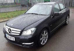 2012 Mercedes C220 CDI BlueEFFICIENCY Sport Edition 125 4dr Auto Saloon - CL505 - NO VAT ON THE HAMM