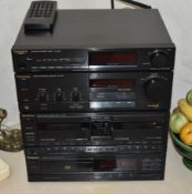 1 xTechnics Separates Stereo System - Includes LW/MW/FM Tuner, Integrated Amplifier, Double