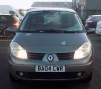 2004 Renault Scenic 1.5 dCi Dynamique MPV 5dr- CL505 - NO VAT ON THE HAMMER - Location: Corby,