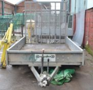 1 x Challenger Indespension 10ft Trailer With 2300Kg Gross Weight - CL464 - Location:Liverpool L19