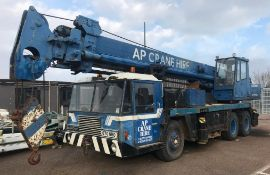 1988-1999 Sisu Lokomo A330NS 30 Tonne Mobile Crane With 9000cc Diesel Engine - Location: Dover