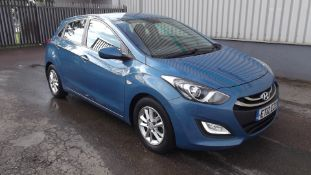 2012 Hyundai I30 1.4 Active 5 Door Hatchback - CL505 - NO VAT ON THE HAMMER - Location: Corby,