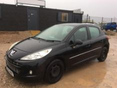 2012 Peugeot 207 1.4 Active 5 Door Hatchback