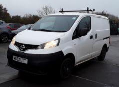 2012 Nissan NV200 Se 1.5 DCI Panel Van- No VAT On The Hammer- CL505