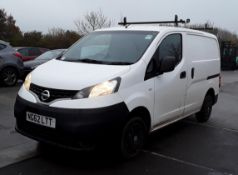 2012 Nissan NV200 Se 1.5 DCI Panel Van - No VAT On The Hammer- CL505